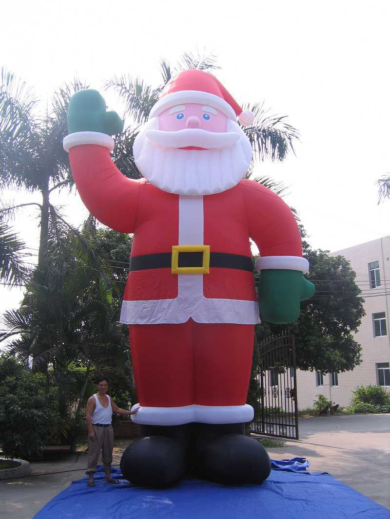 China giant inflatabel santa claus christmas