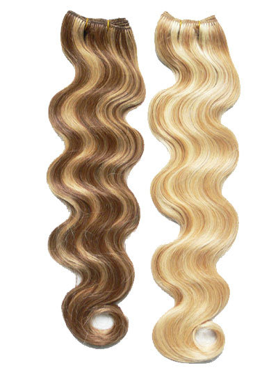 Brazilian /Indian /Chinese Remy Human Hair Body Wave Light Color