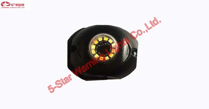Dual Colors LED Hide-Away Emergency Warning Light for Firefighting