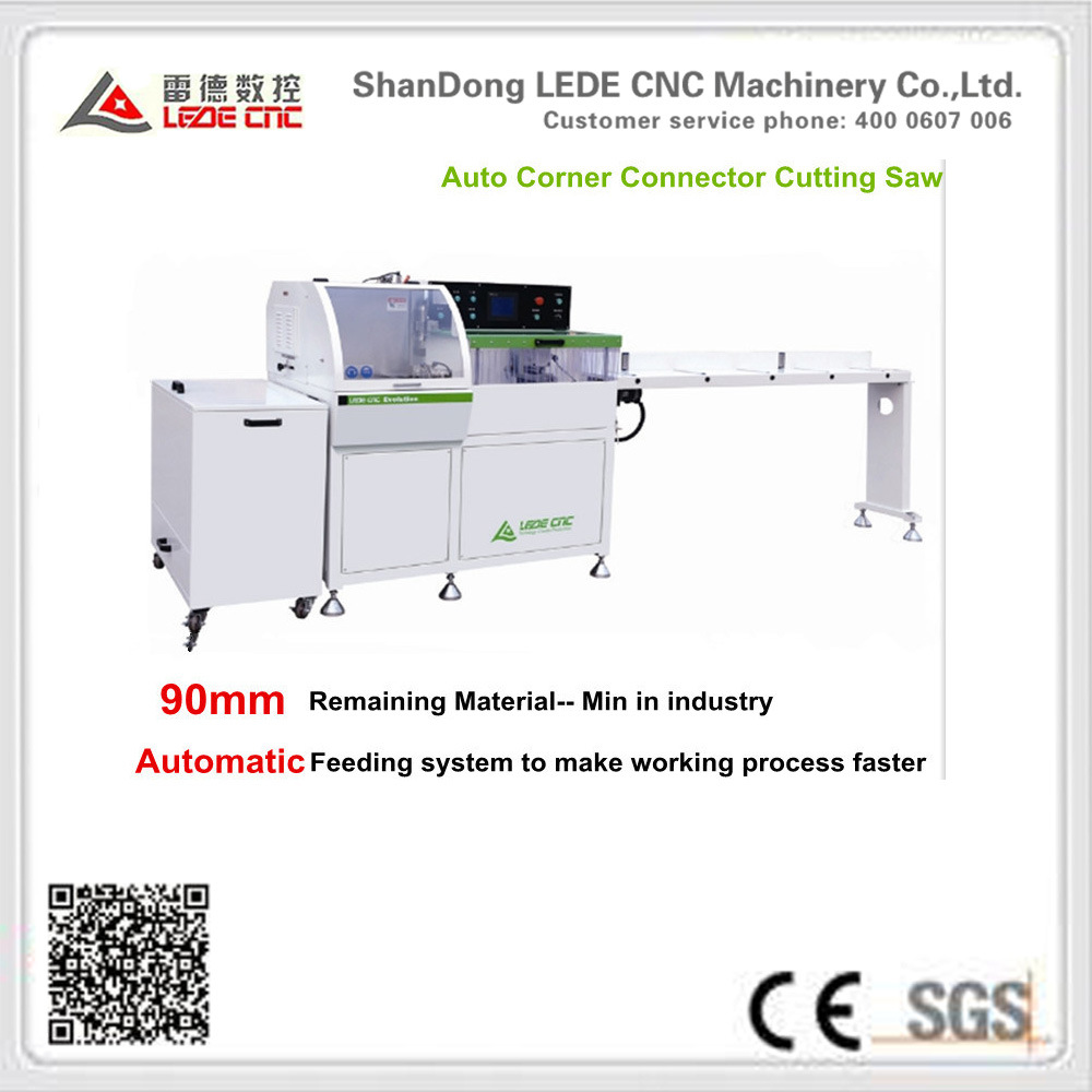 Conner Connector Cutting Saw Machine Excess Material Only 90mm CNC Control