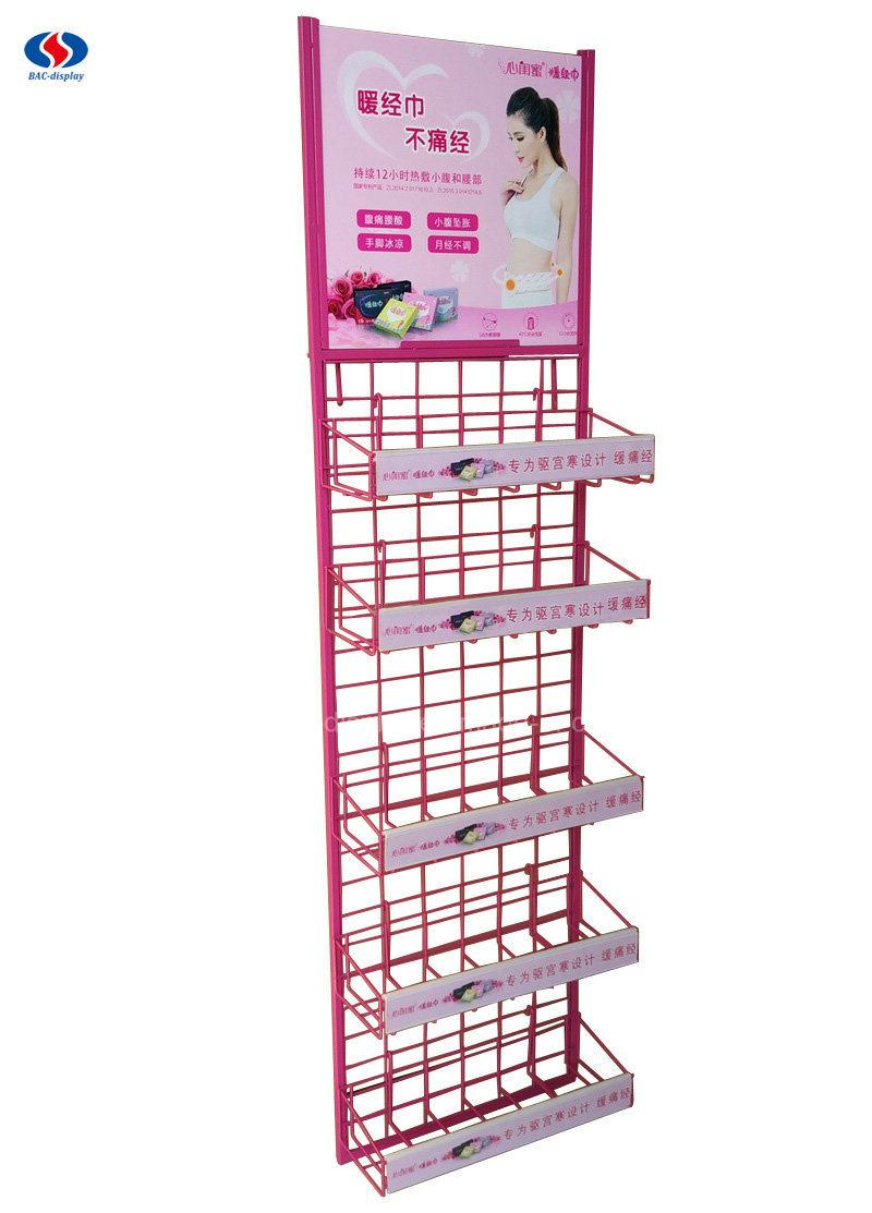 China Sanitary Napkins Daily Necessities Display Racks Women ...