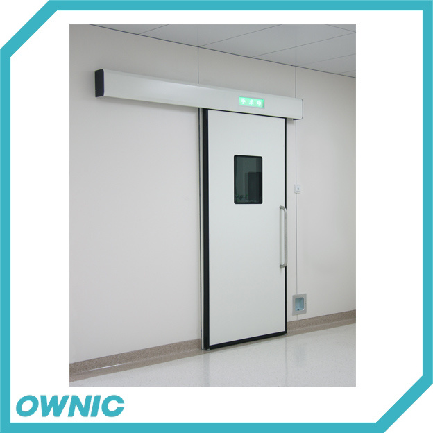 New Automatic Hermetic Sliding Door with Large Plane View Glass
