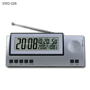 china lcd alarm clock radio erc 226 china radio clock radio. Black Bedroom Furniture Sets. Home Design Ideas