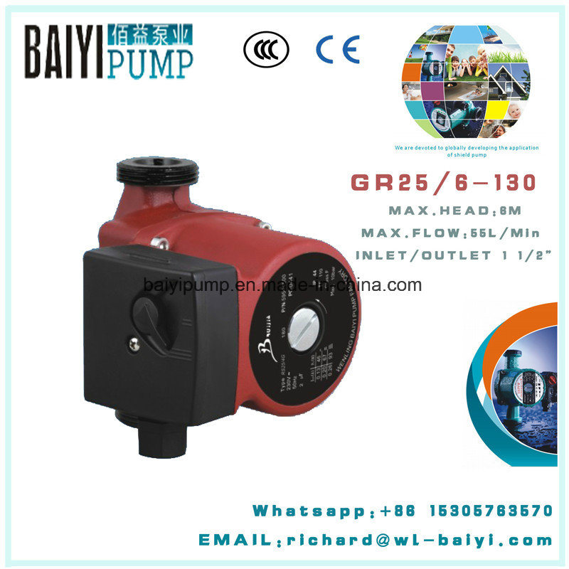 Small Family Hot Water Booster Circulation Pump (RS25/6G)
