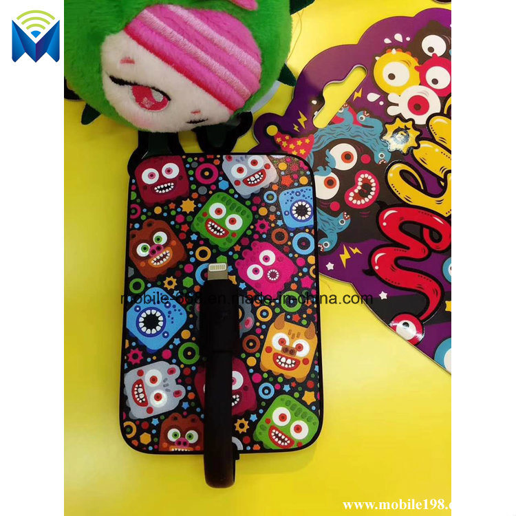 Cute Little Monsters Universal Portable Backup Battery Charger 5000mAh Power Bank