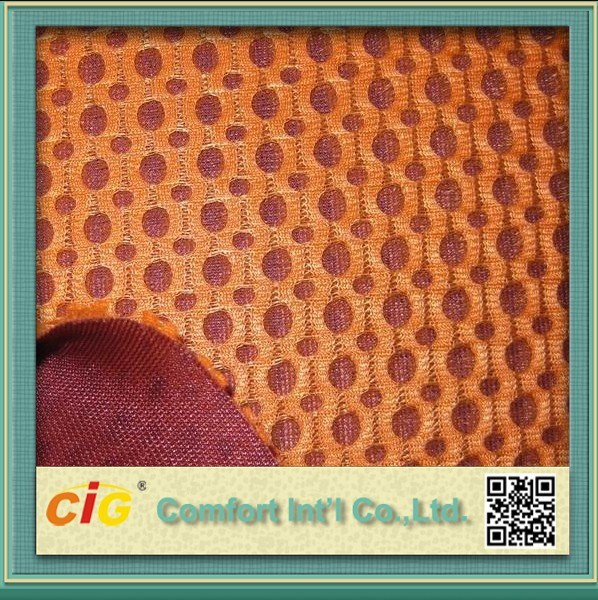 100% Polyester 3D Mesh Fabric Sandwich Air Mesh Cloth