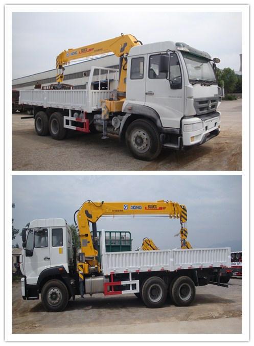 Sinotruk HOWO 6X4 Truck Mounted Crane