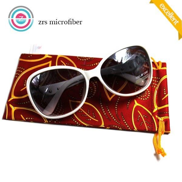 Multi-Color Durable Microfiber Glasses Pouch