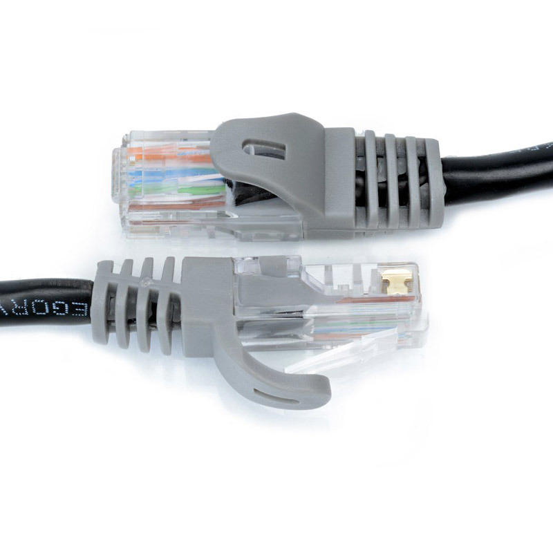 Cat5e Snagless RJ45 Connector Jack UTP Network Patch Cord Cable