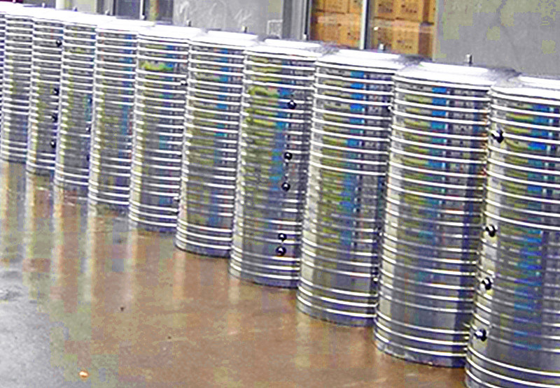 Big Capacity Pressurized Hot Water Storage Tank