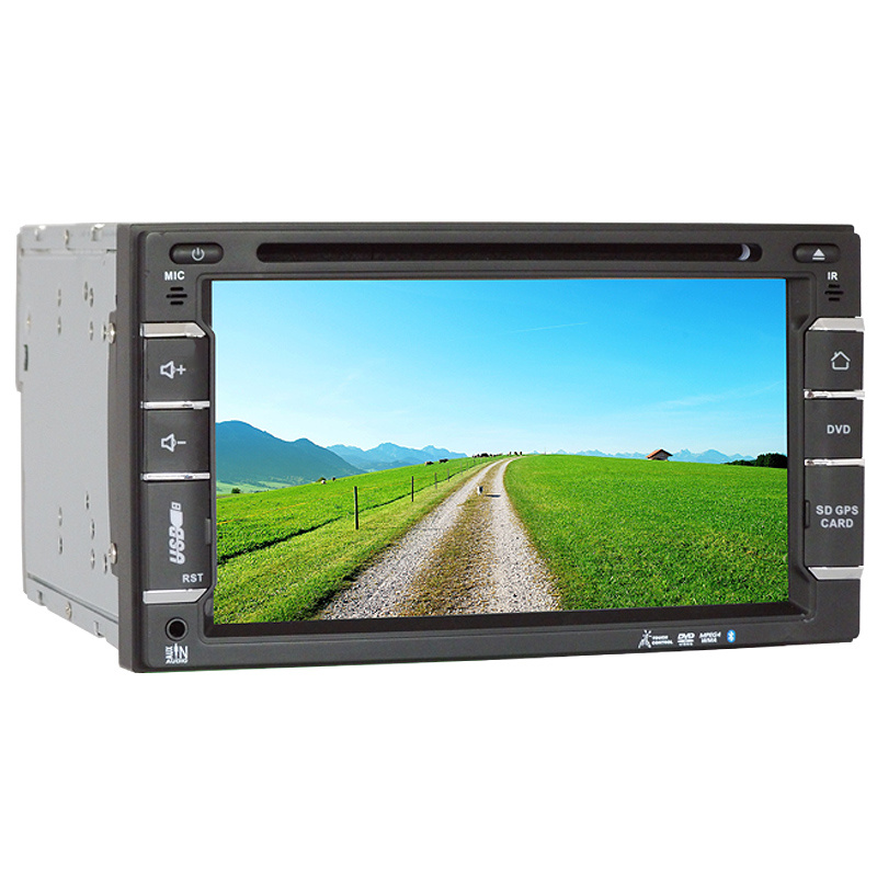 6.5inch Double DIN 2DIN Car DVD Player with Wince System Ts-2508-2