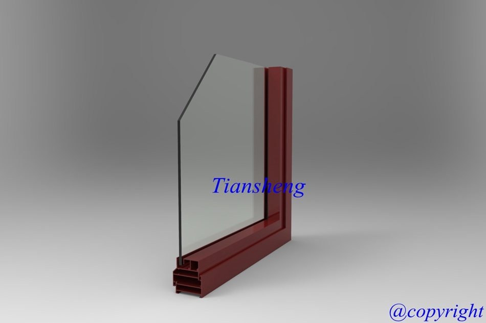 503series Aluminum Casement Window for Commercial and Residential Building