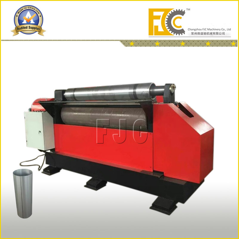 2 Rollers Steel Sheet Rounding Machine for Air Compressor Drum