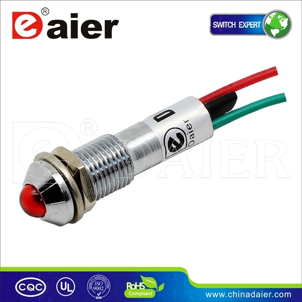Control Panel Car Signal LED Indicator Pilot Lamp
