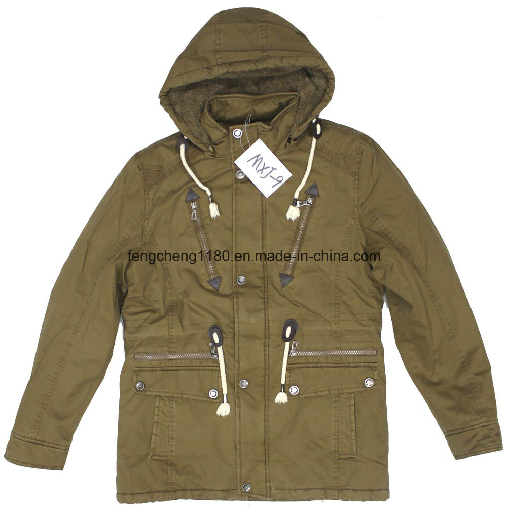 Men Outdoor Winter Warm Coat Cotton Washing