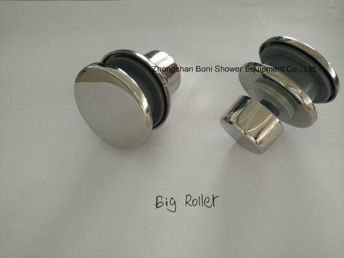 Shower Room 8mm Big Roller Sliding Door Shower Enclosure