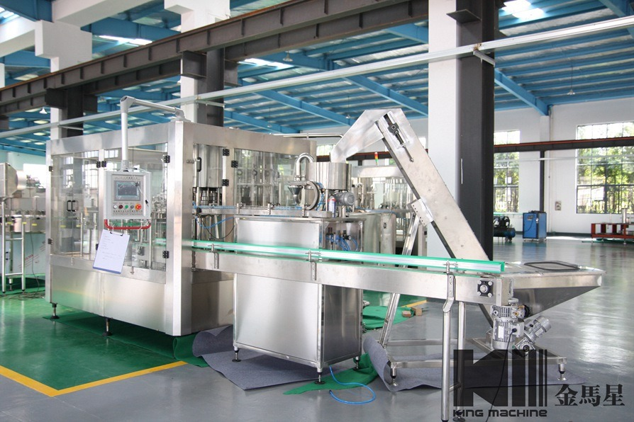 Full Automatic Water Filling/Labeling/Packing Machine