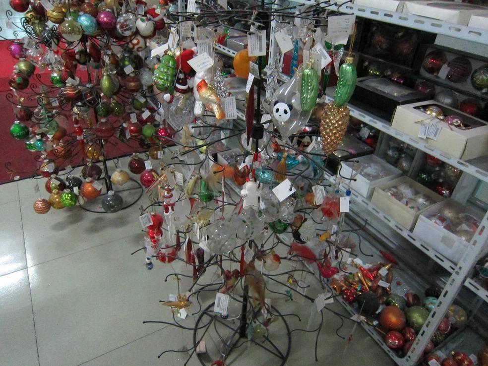 Christmas Galss Tree Lghtup Mrcry