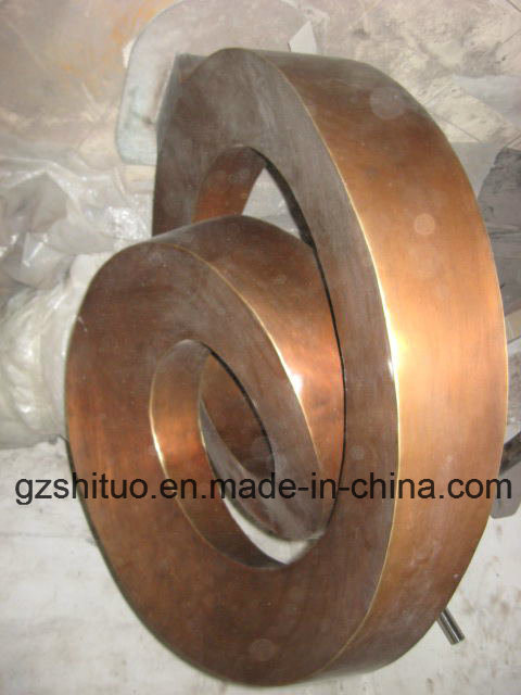 The Bronze Sculpture Garden Outdoor Decorative Copper Products, Abstract Shape