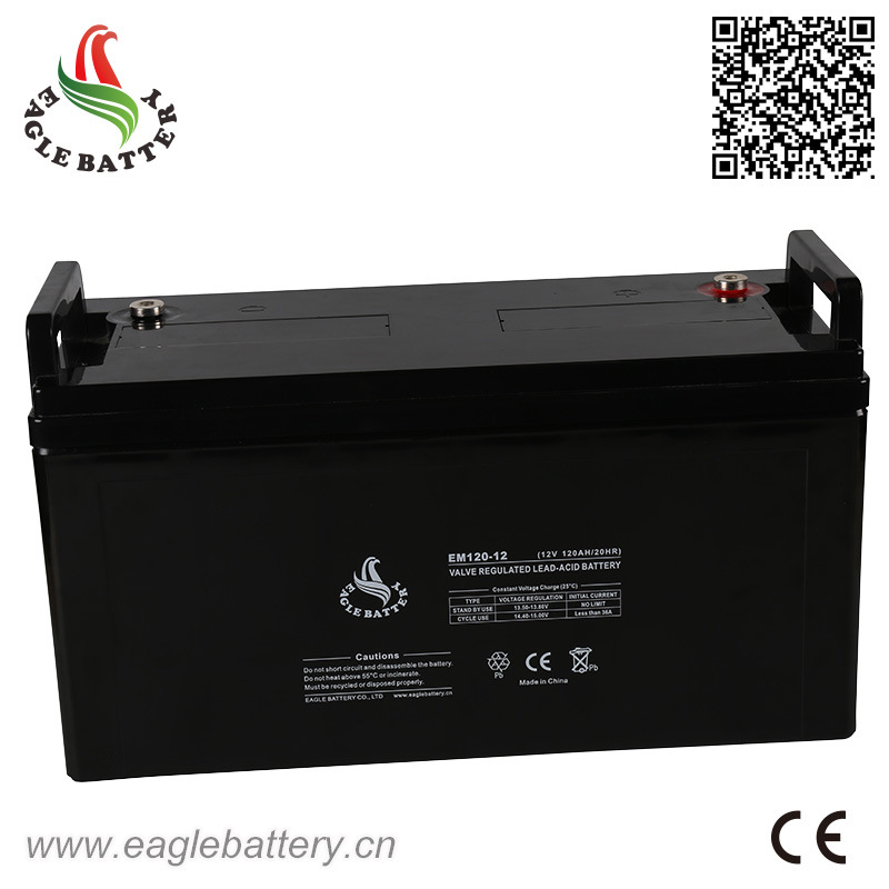 12V 120ah Rechargeable Mf Lead Acid Battery for UPS
