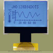 Characters and Graphics FSTN Cog LCD Display