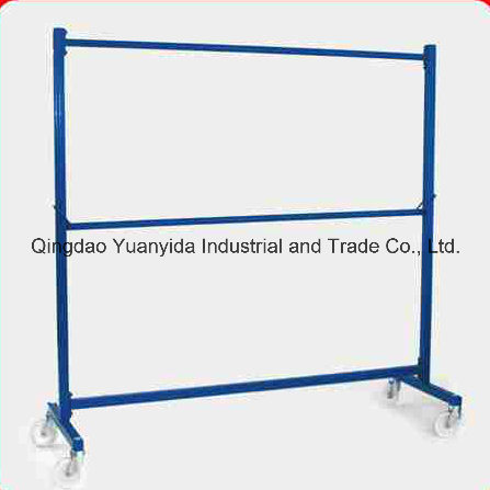 Nestable Steel Powder Coating Garment Rail