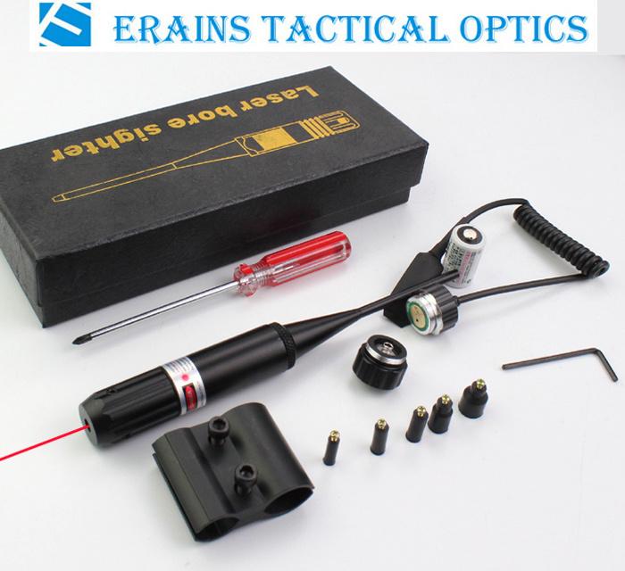 Erains Tac Optics Laser Sight Multifunctional Red DOT Laser Bore Sight for. 177 to. 50 Caliber Laser Boresighter