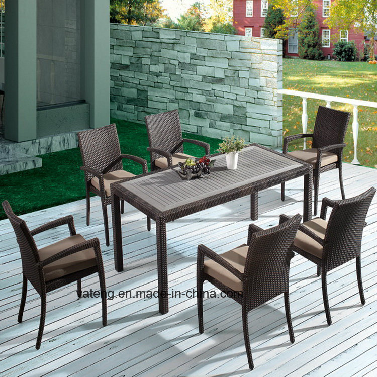 Top Quality Popular Design Hotel Furniture Outdoor Using Chair& Table (YTA362-1&YTD533)