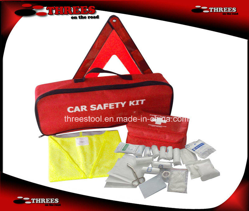 Car First Aid Safety Kit with DIN13164 (ET15010)