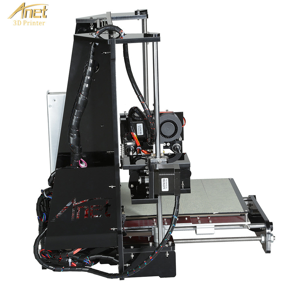 3D Printer Anet A6 with LCD Screen, USB & SD Card