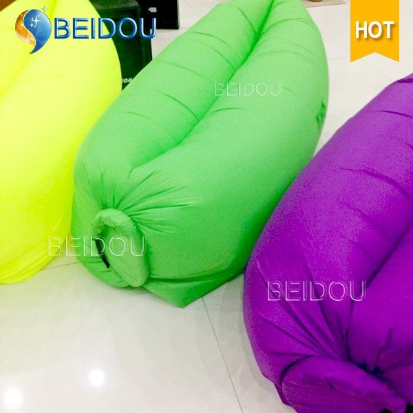 New DIY Cheap Envelope Form Inflatable Hangout Air Sleeping Bags