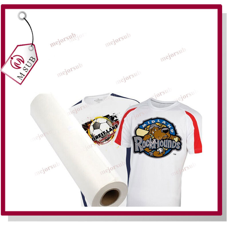 Sticky and Tacky 100GSM Sublimation Paper Roll for Polyester