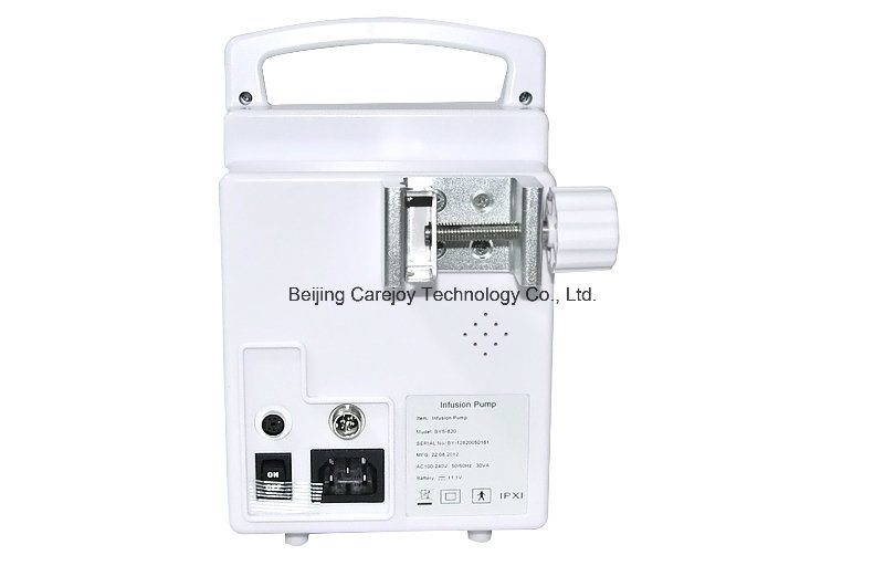 Factory Price Electric Infusion Pump with Voice Alarm and Drug Store (IP-50) -Fanny