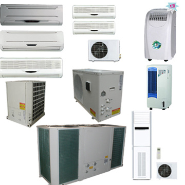Air Conditioners range from 5,000 BTU window air conditioners to PTAC units and Mini Splits.