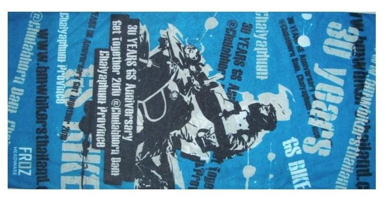 Customized Logo Printing Polyester Multifunctional Magic Tube Scarf Bandana