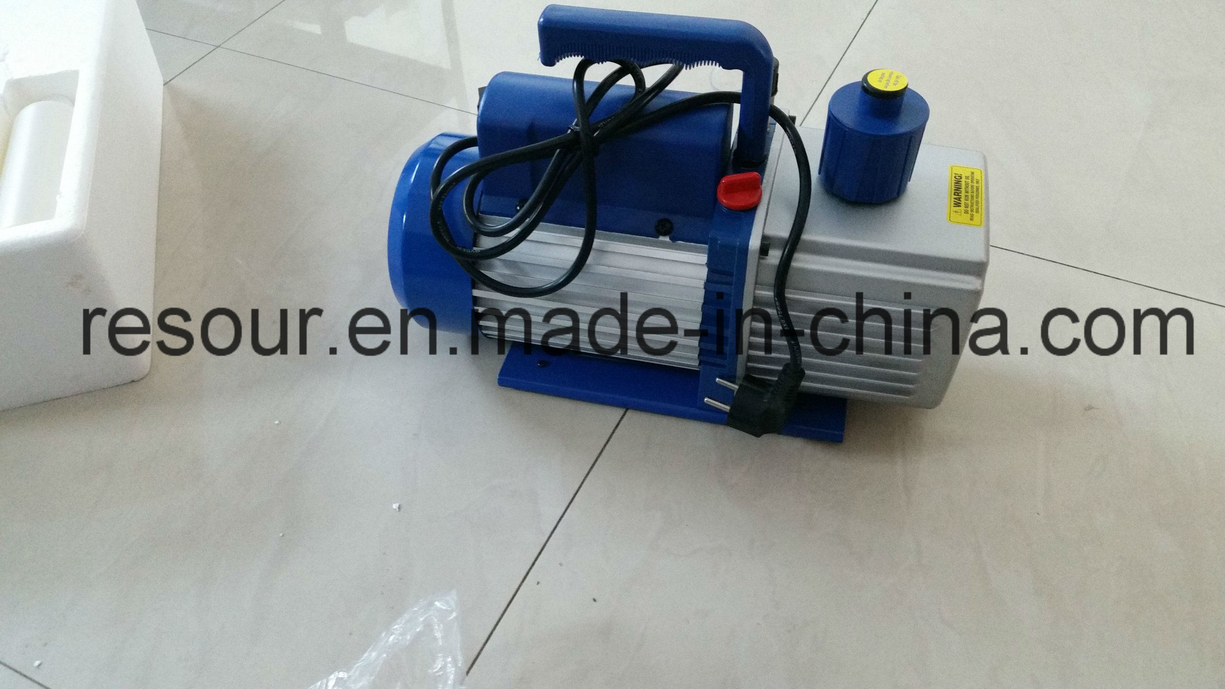 Vacuum Pump (with vacuum gauge and solenoid valve) for Refrigeration, Vp160, Vp180, Vp1100