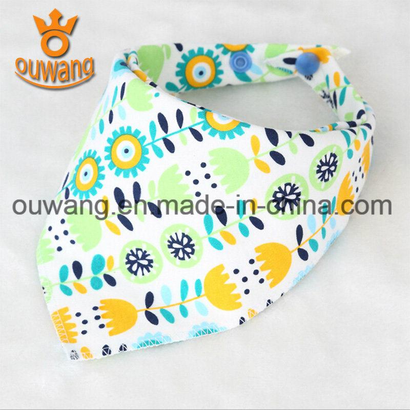 Fashion Wholesale Washable Baby Bandana Drool Bibs