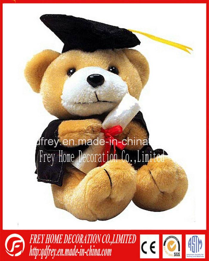 Plush Koala Toy with Graduation Robe, Doctor Hat