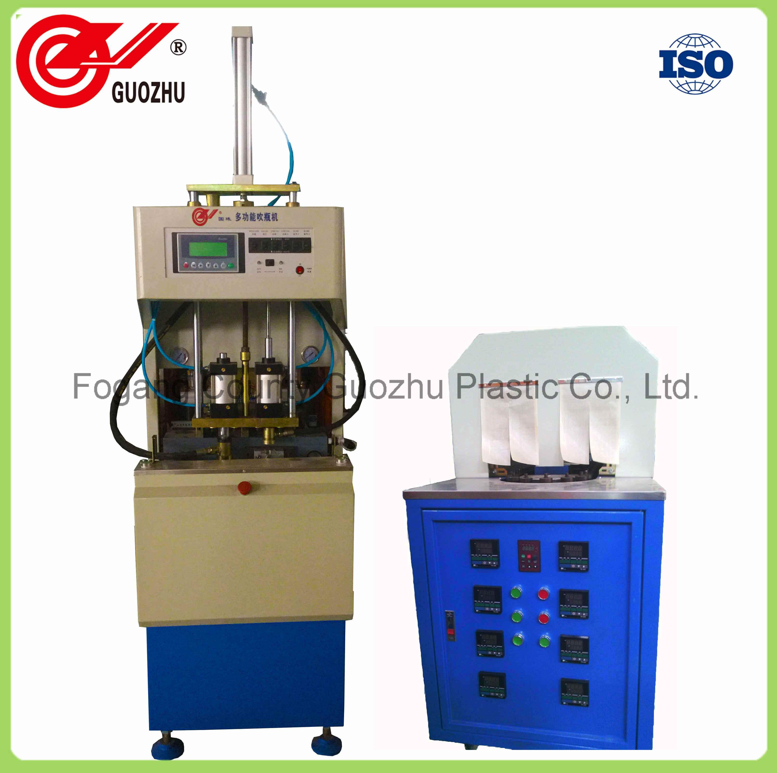 Semi Auto 1.5L Plastic Bottle Blow Molding Machine