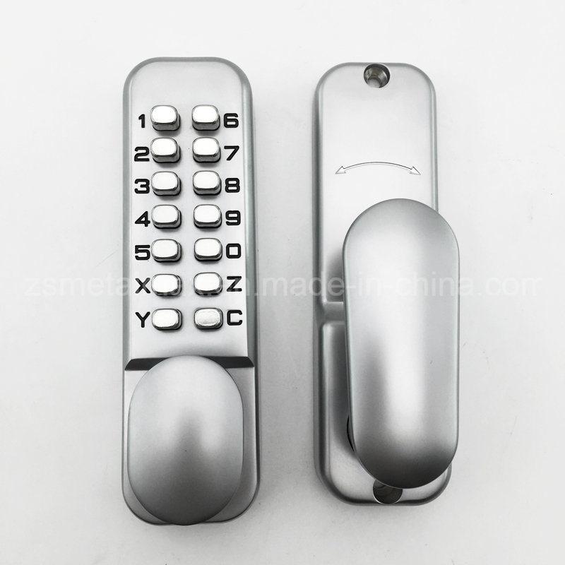 Mechanical Keyless Digital Combination Push Button Security Door Code Lock