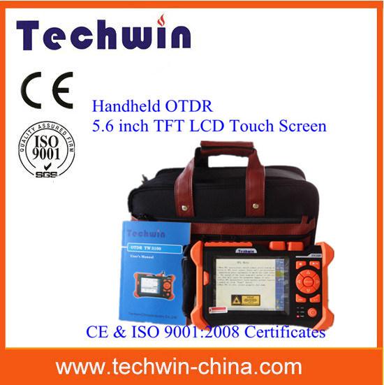 Selectable Measurement Duration Techwin OTDR Tw3100 Fibre Optical Mini OTDR