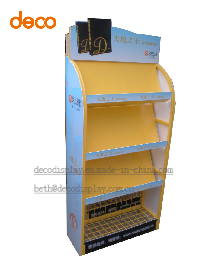 Pop up Display Stand Metal Display Shelf Floor Display Stand