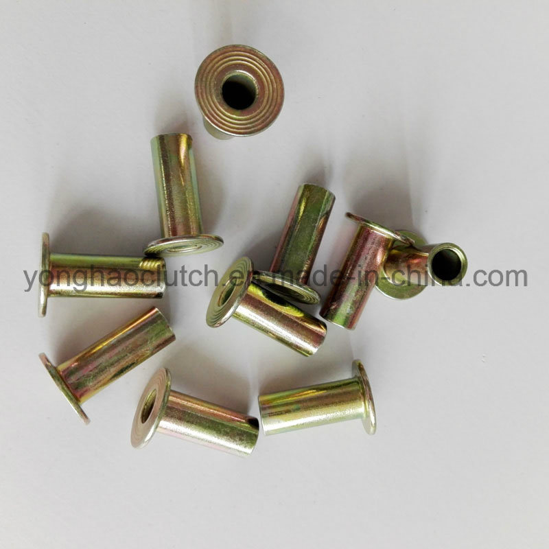 Flat Head Hollow Tubular Rivets 8X20