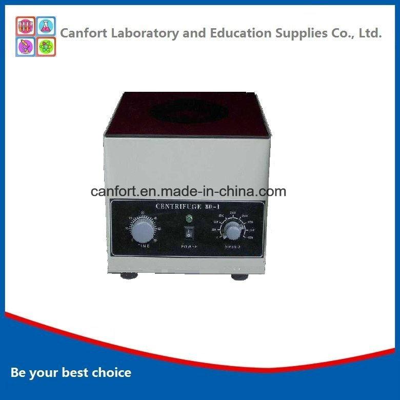 Lab Equipment 4000rpm 20mlx6 Centrifuge Machine 801 with Good Price