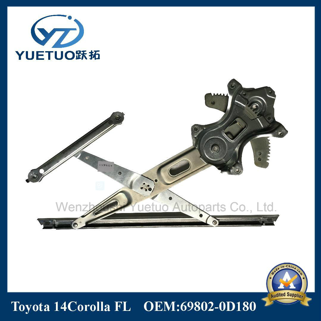 Car Parts Window Lifter for Toyota 14corolla Front Left 69802-0d180