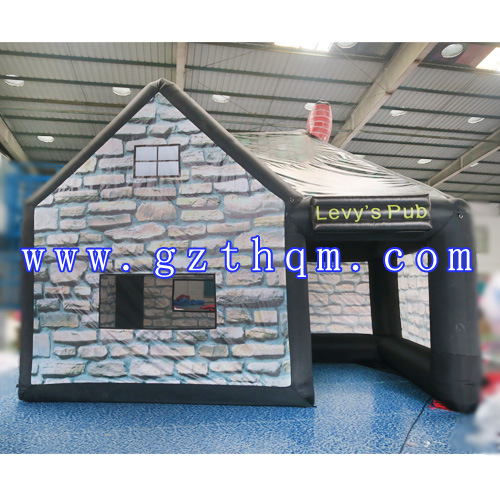 Inflatable Pub Tent for Party Drinking/Commercial Digital Printed Inflatable Bar Party Tent
