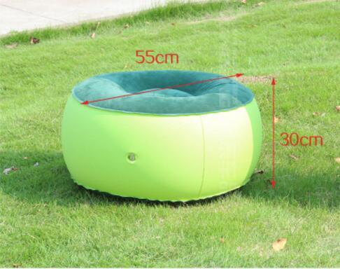 Inflatable Couch Bean Bag Air Cube Chair for Relaxing