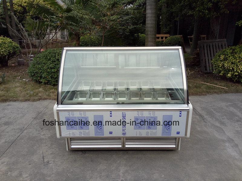 B24 Italian Gelato Display Case Freezer