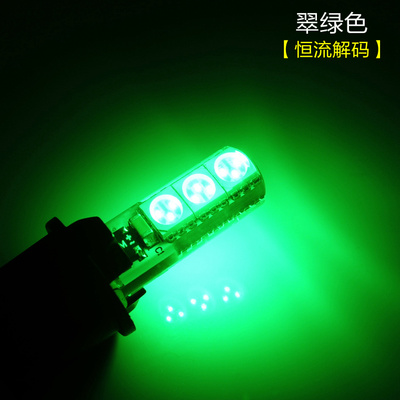 LED T10 5050 Wedge 5 SMD Chip 12V Car Door Light License Plate Lamp Tail Light Auto Reading Light /Lamp Type 194/168 W5w