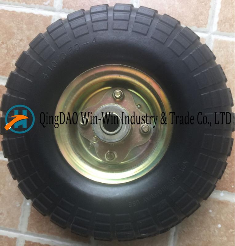 3.00-4 PU Solid Wheel for Wheelbarrow